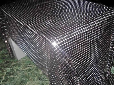 Metal Mesh Curtain For Room Divider And Window Curtains